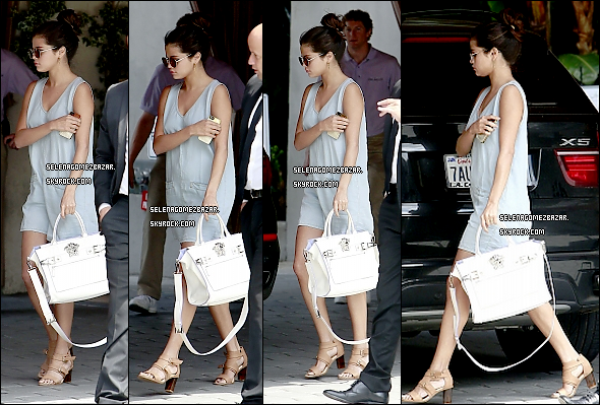 22/03/14. Selena à été vue arrivant à l'hôtel Sunset Tower et plus tard dans la journée elle a été aperçue quittant l'hôtel dans une autre tenue à West Hollywood à Los Angeles. + Nouvelle photo poster par Selena. Top ou Flop ?