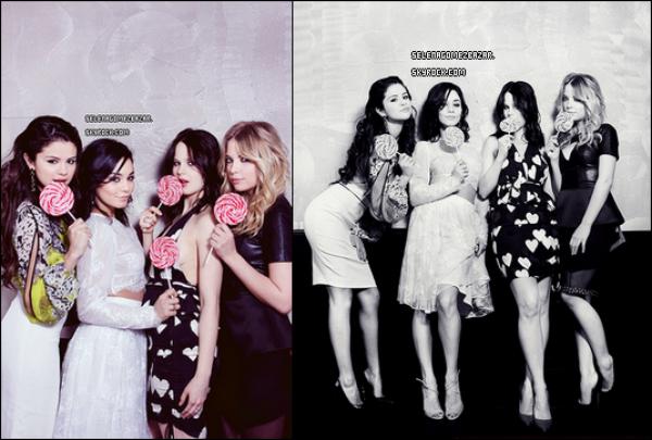 Voici 2 nouvelles photos de Selena, Vanessa Hudgens, Rachel Korine et Ashley Benson pour le magazine Vanidad. Qu'en pensez-vous ?