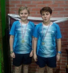 Résultats du Départemental de Badminton du 09 janvier 2019 à St-Amand