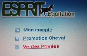 Esprit Equitation Article pub !