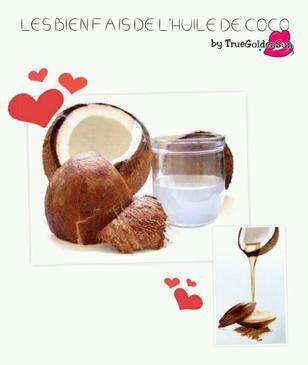 L'huile de coco mon produit coeur de coeur