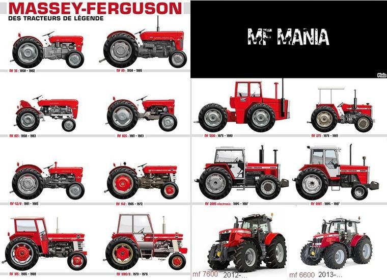 Massey Ferguson, des tracteurs de légendes !