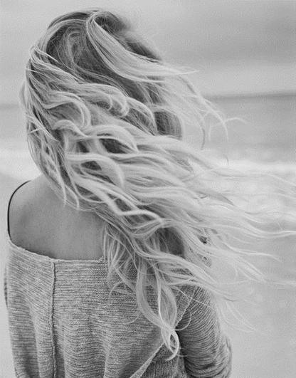 Les cheveux au vent j'ai pensé ... <3