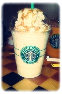 Starbucks Coffee ♥ Frappuccino Caramel