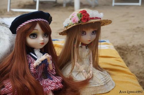 Quelque photo des vacances avec Cupidolls