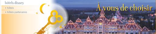 Petit jeux /Les hotels disney pour encore plus de magie...