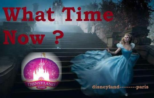What Time Now? (Disneyland parc)