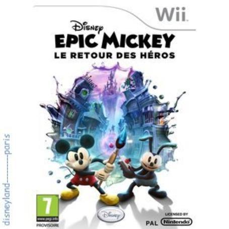 GEEK: Disney epic Mickey: Le retour des heros