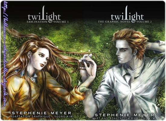 Le manga Twilight, Fascination Vol 1 et 2