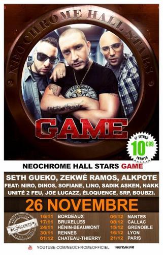 "| NEWS | Néochrome Hall Stars ""Game"" | Nouvel album + concerts !"