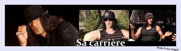 Carriere de Criss Angel