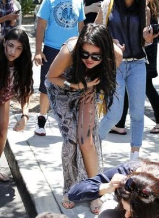 ♥ Selena & Justin À LA !