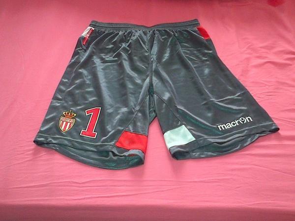 ~ Short AS Monaco porté par Danijel Subasic en Ligue 2 Saison 2012/2013.