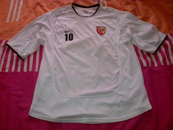 ~ T-shirt d'entrainement RC Lens porté par Dejan Milovanovic Saison 2008/2009.