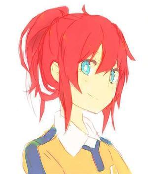 Kirino's hairs color #Eika
