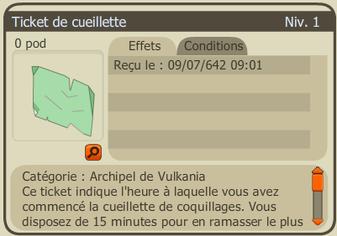 "Tutoriel Vulkania #2: quête ""Cueillette de coquillages"""