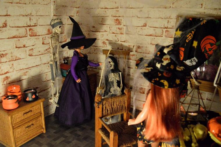Réunion entre sorcières
