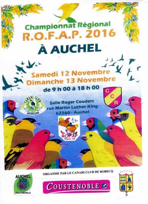 Régional ROFAP, région 8.