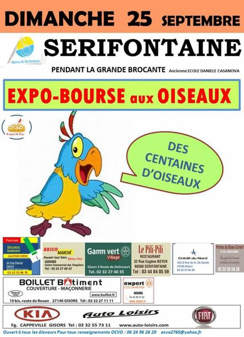 Exposition bourse.