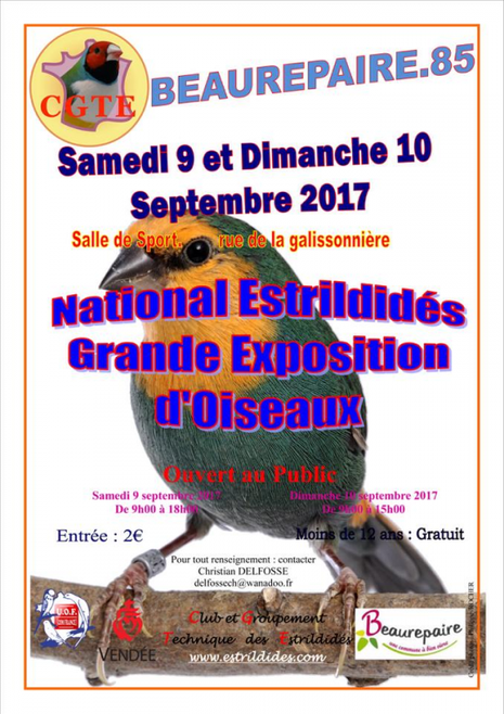 National Estrildidés.
