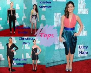 Les MTV Movie Awards 2012