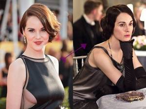 Les Actrices de la série Downton Abbey