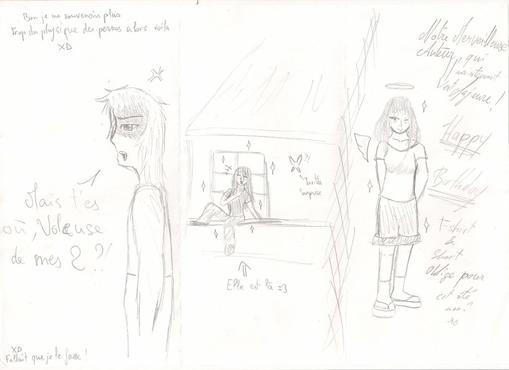 Extrait Elyria et la Rose d'Argent - Par MewMeg