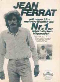 """1980 - Pochette du disque """" FERRAT 80 """" (n° 1 en Allemagne)"""