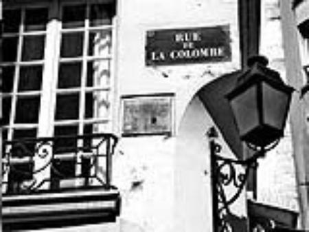 """1958) Le cabaret  """" La colombe """""""