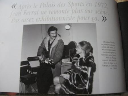 Jean FERRAT annonce qu'il ne remontera plus sur scène (Octobre 1972)