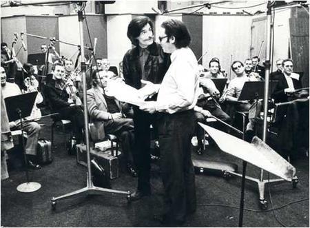 Jean FERRAT et L'orchestre d'Alain GORAGUER en studio (1974)