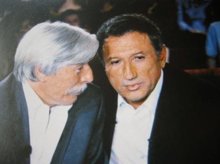 """Jean FERRAT et Michel DRUCKER à  """" Vivement Dimanche """" (1995)"""