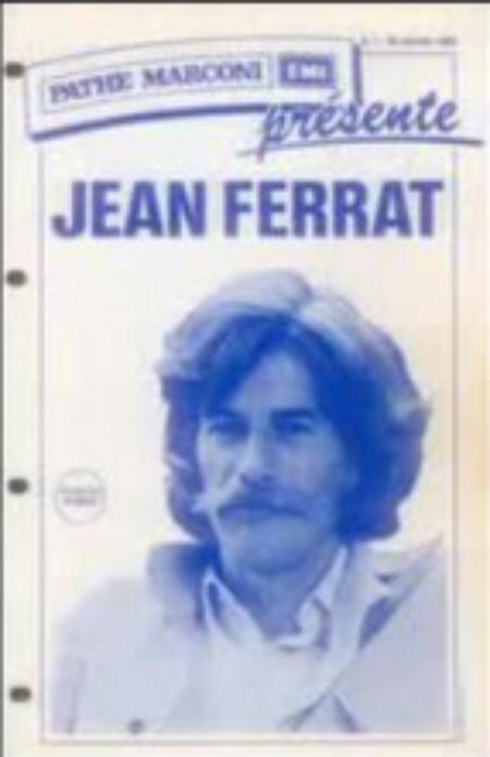 Pathé Marconi présente Jean FERRAT (1974)