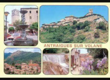 1995) Carte postale  d 'ANTRAIGUES-SUR-VOLANE (07530)