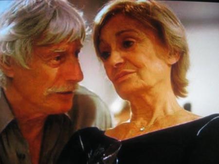 1998) Jean et Colette FERRAT chez eux