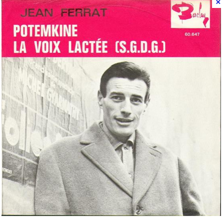 1965) Jean FERRAT - Potemkine ( version vendu au Portugal )