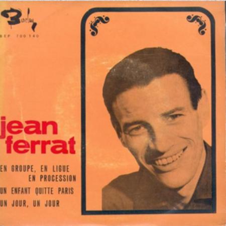 1966) Jean FERRAT - En groupe, en ligue, en procession ( version vendu en Belgique )