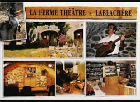 """2014 )Spectacle """"Jean d'ici FERRAT le cri """" à La Lablachère (Archèche)"""