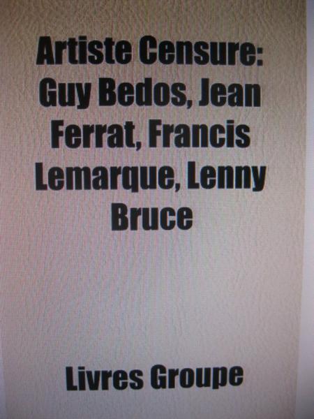 Jean FERRAT et d'autres artistes censurés
