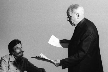 Jean FERRAT et Louis ARAGON (1970)