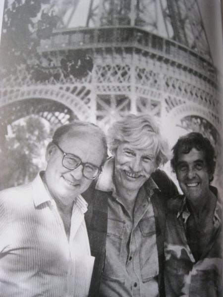 Jean FERRAT avec Alain GORAGUER et Gérad MEYS vont à la SACEM (1995)