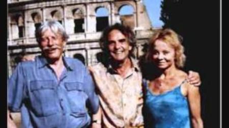 Jean FERRAT avec Isabelle AUBRET et Gérard MEYS à Arles (1998)