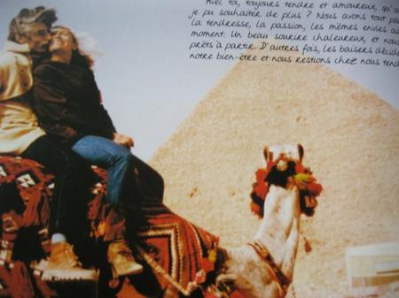 Jean et Colette FERRAT en Egypte