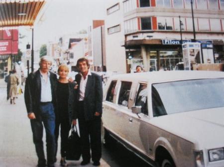 Jean et Colette FERRAT avec Gérard MEYS à Québec (2004)