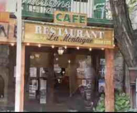 """Le restaurant  """" La montagne """""""