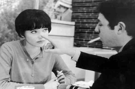 "1962 - Photos du film "" Vivre sa vie "" de Jean-Luc GODART"
