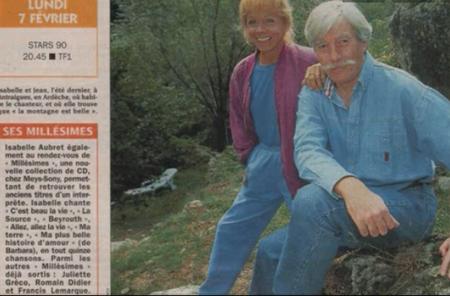 "1991) Article de presse sur Jean FERRAT "" STARS 90 """