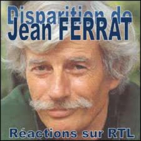 Annonce de la mort de Jean FERRAT sur RTL (10 Mars 2010)
