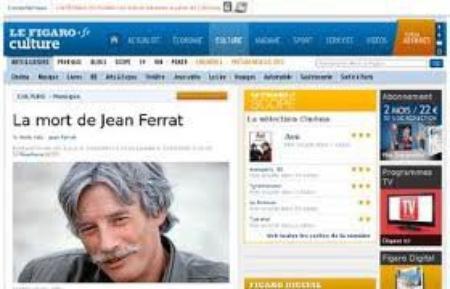 La mort de jean FERRAT (10 Mars 2010)