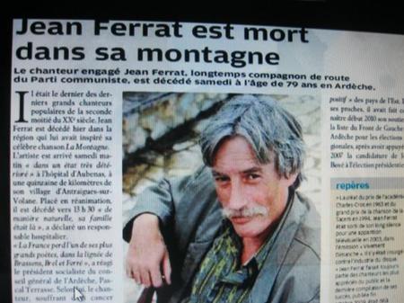 2010) Article de presse du 14 Mars 2010